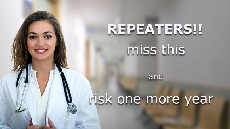 best NEET repeater course
