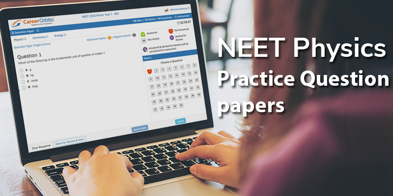 NEET Physics Question Papers with solutions