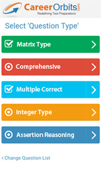 jee advanced all question types